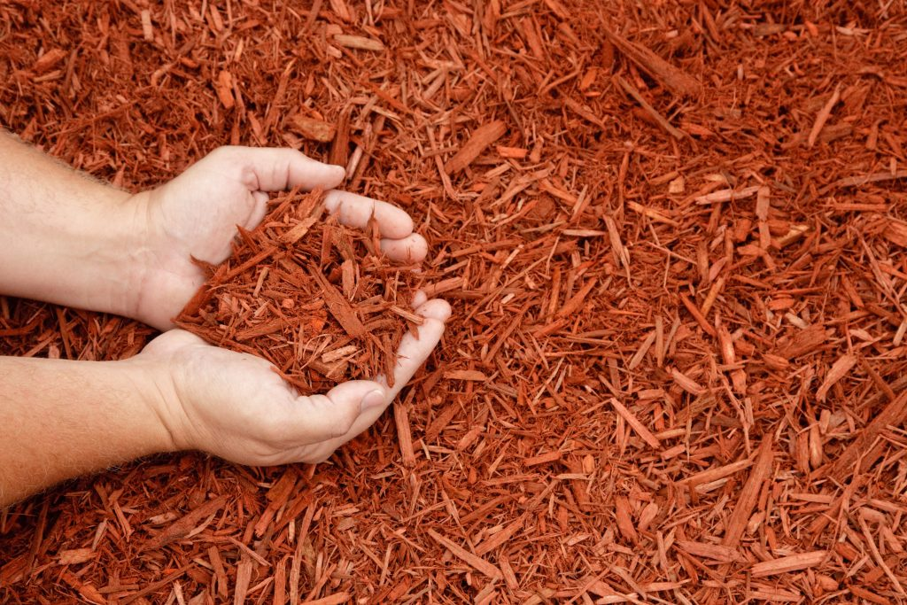 LOCKPORT la mulch installation 8